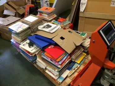 Près de 800 livres et manuels scolaires pour Sahofika!