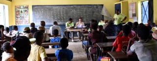 Une cantine scolaire pour l'école de Sahofika