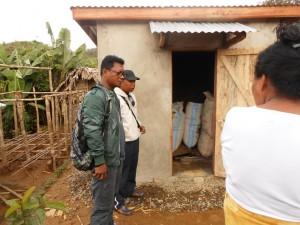 Récéption SILO Sahofika avec Maire Tsaratanana,  Directrice Ecole