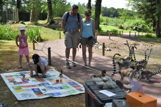 Week-end Helpsimus au zoo de Jurques