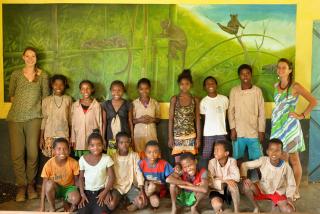 Une mallette pédagogique sur le grand hapalémur