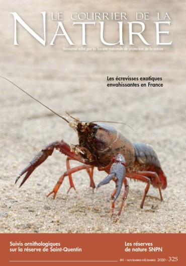 Article sur le gardiennage des rizières dans le Courrier de la Nature de nov.-déc. 2020